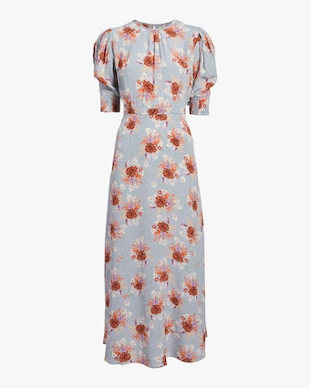 Lily Short Sleeve Column Dress