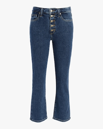 The Callie Exposed Button Fly Jeans