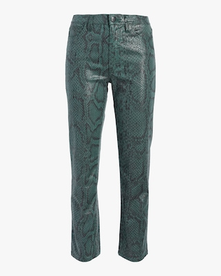 The High Rise Cigarette Pant