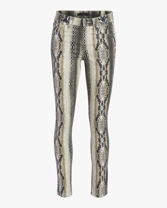 The Icon Snake Print Jeans