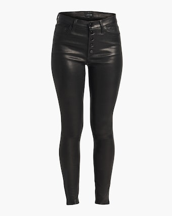 The Charlie Ankle Leather Pants