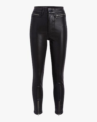 The Bella Ankle Zip Hem Pant