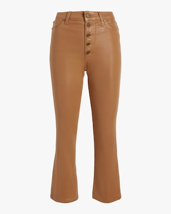 The Callie Exposed Button Fly Pant