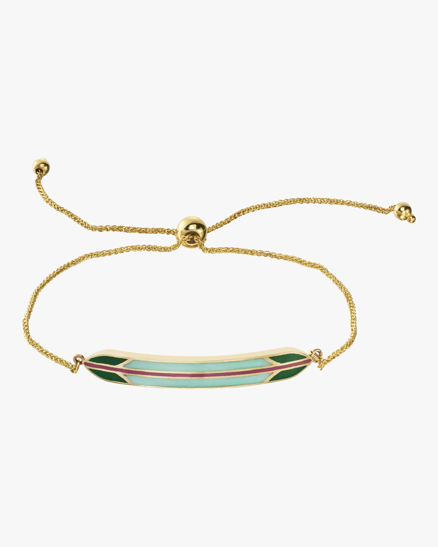 Surf Goddess Gold Leash Bracelet