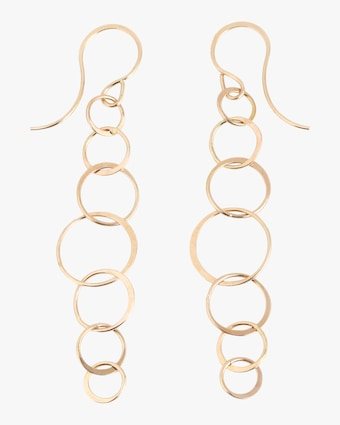 Melissa Joy Manning Lightweight Chain Earrings 1