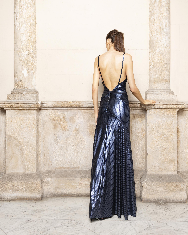 Adriana Iglesias Jill Pailletes Dress 1
