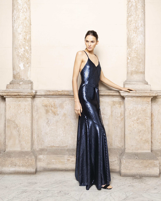 Adriana Iglesias Jill Pailletes Dress 2