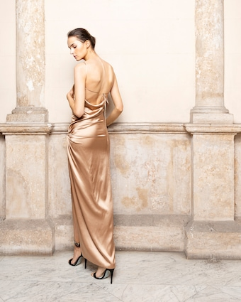Adriana Iglesias Goldie Dress 2