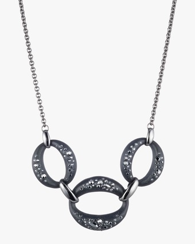 Noir Dust Small Link Necklace