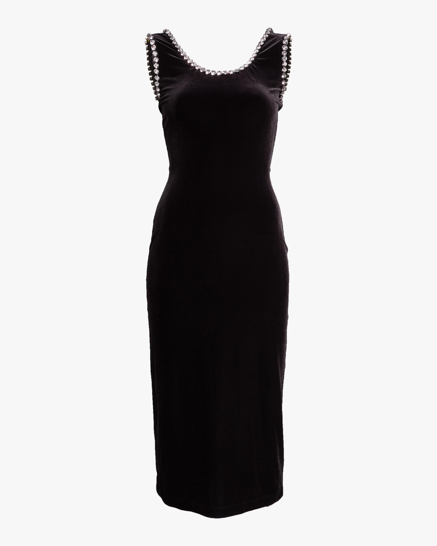 Cupchain Velvet Dress