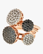 Selim Mouzannar Black Diamond Ring 1