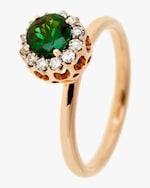 Selim Mouzannar Diamond And Tsavorite Ring 0