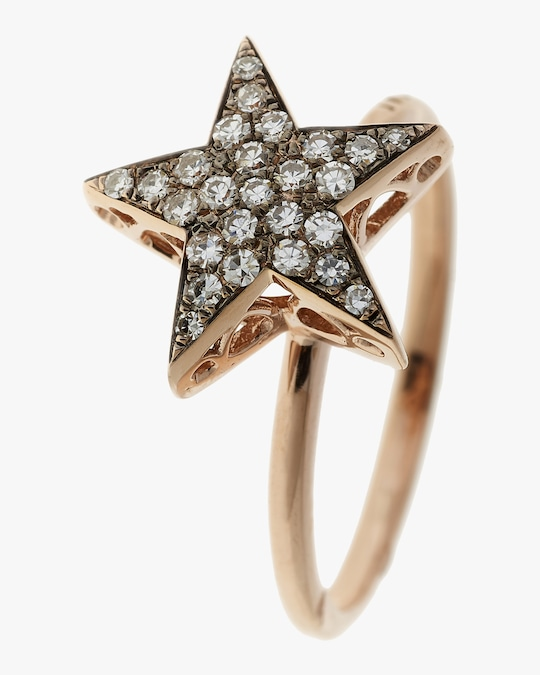 Selim Mouzannar Diamond Star Ring 0