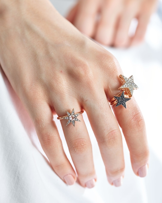 Selim Mouzannar Diamond Star Ring 1