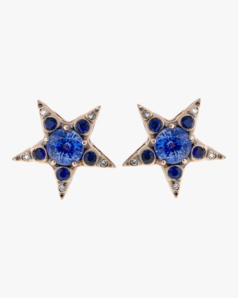 Selim Mouzannar Diamond And Sapphire Earrings 2