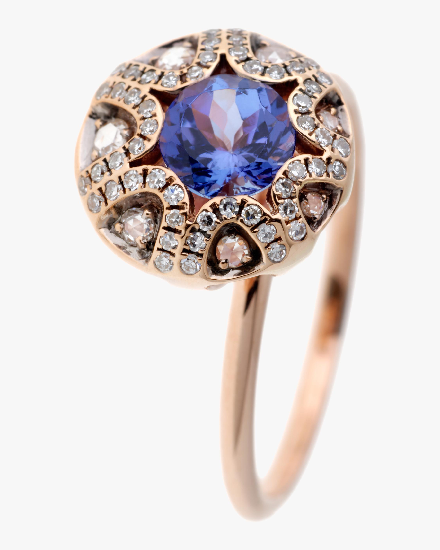 Selim Mouzannar Diamond & Tanzanite Ring 0