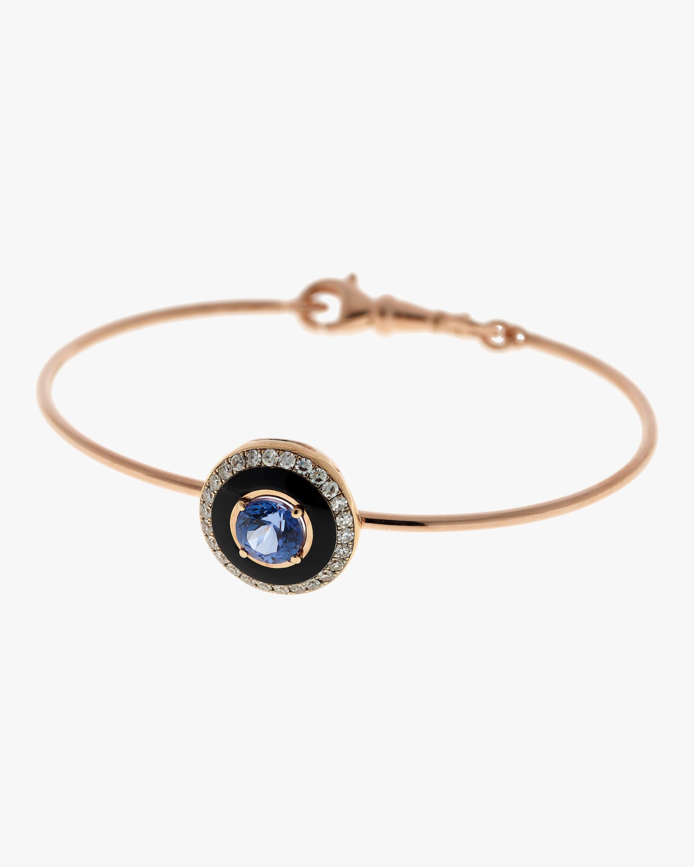 Selim Mouzannar Enamel, Sapphire & Diamond Bracelet 1