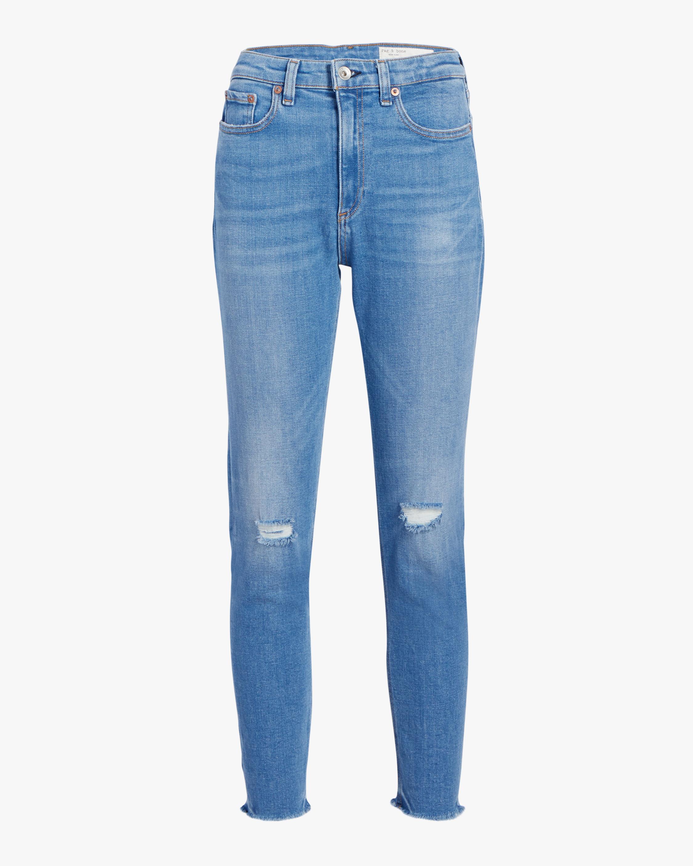 Nina High Rise Ankle Skinny Jean