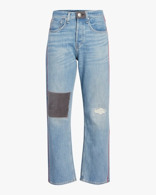 Maya High Rise Ankle Straight Jean