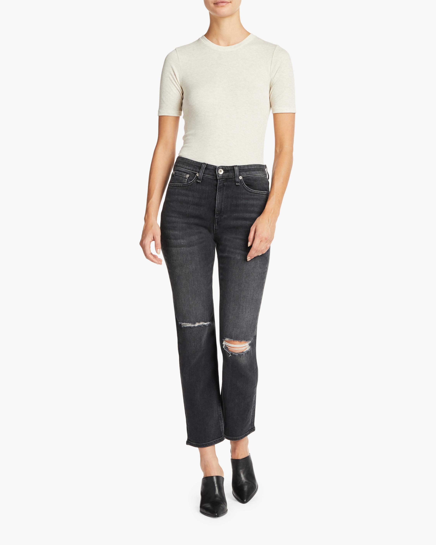 Nina High Rise Ankle Cigarette Jean
