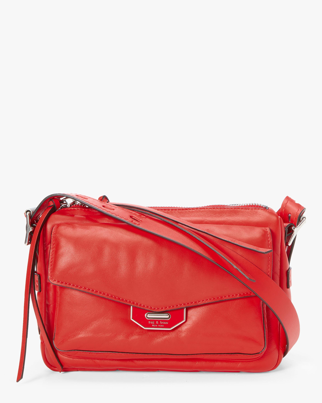 Small Field Messenger Puffer Bag