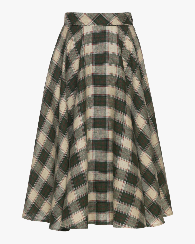 Charles High Waisted Circle Skirt
