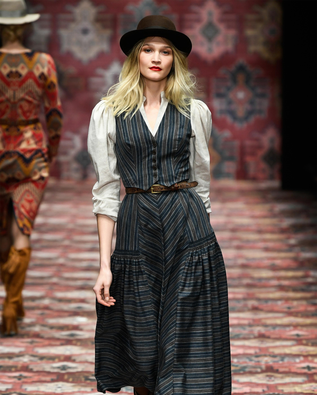 Old West Midi Dress