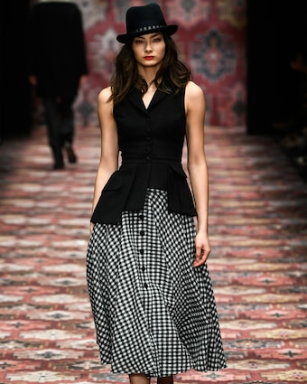 Oscar High Waisted Circle Skirt