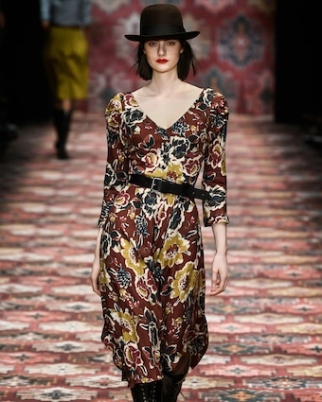 Poet Flared Dress