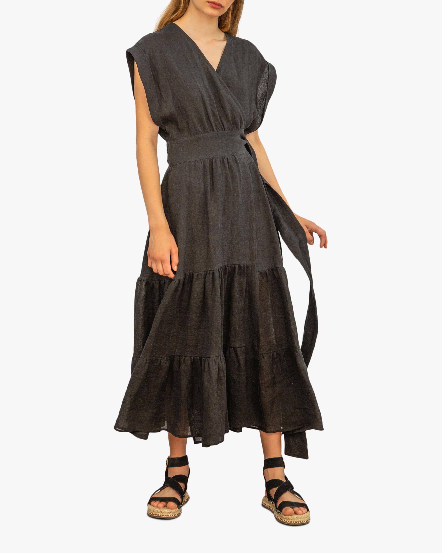 A Mere Co Alex Wrap Dress 0