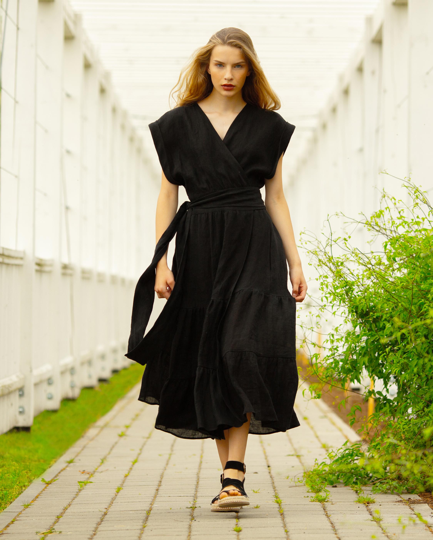 A Mere Co Alex Wrap Dress 2