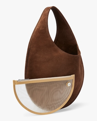 Tear Drop Top Handle Bag