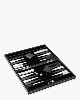 Marble Backgammon Set