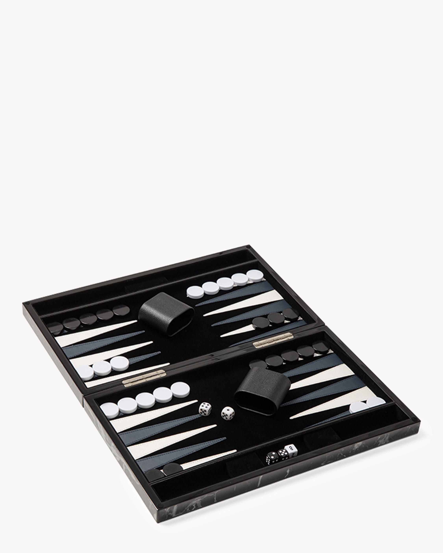 Marble Backgammon Set