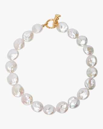 Goa Pearl Collar Necklace