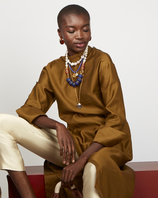 Indigo Charm Necklace