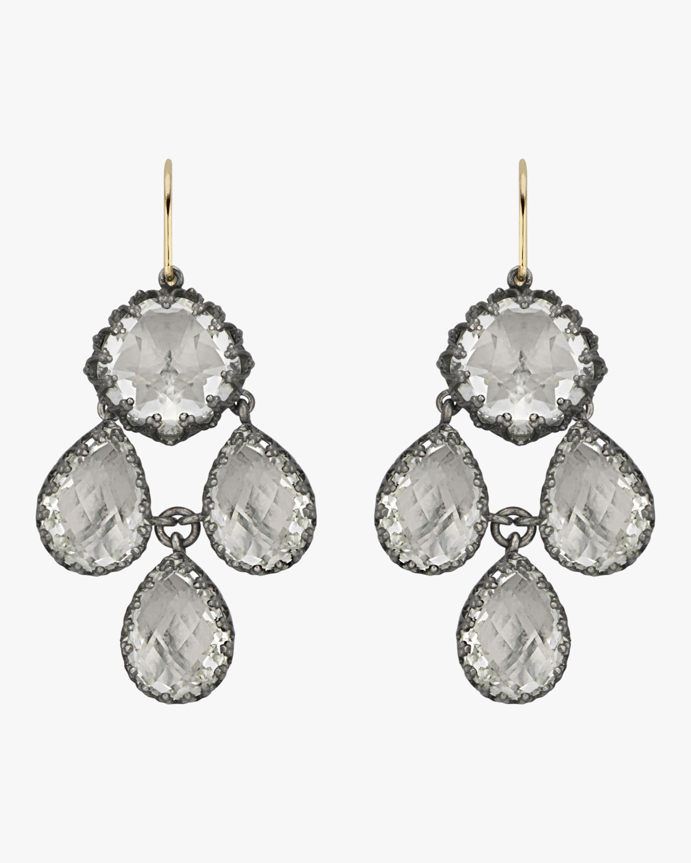 Larkspur & Hawk Antoinette Girandole Earrings 1