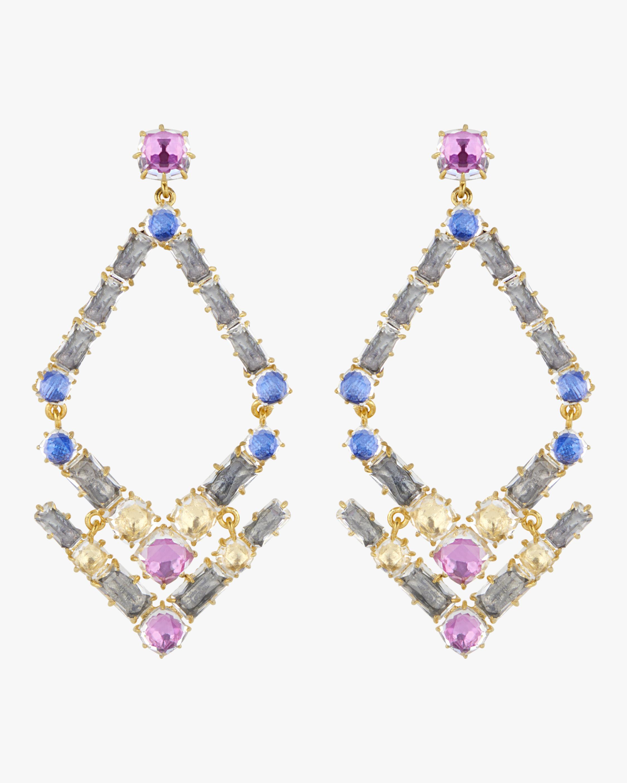 Larkspur & Hawk Caterina Trapezoid Earrings 0