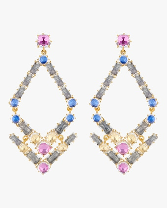 Larkspur & Hawk Caterina Trapezoid Earrings 1