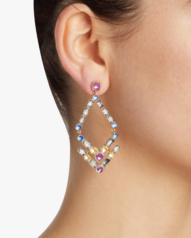 Larkspur & Hawk Caterina Trapezoid Earrings 1