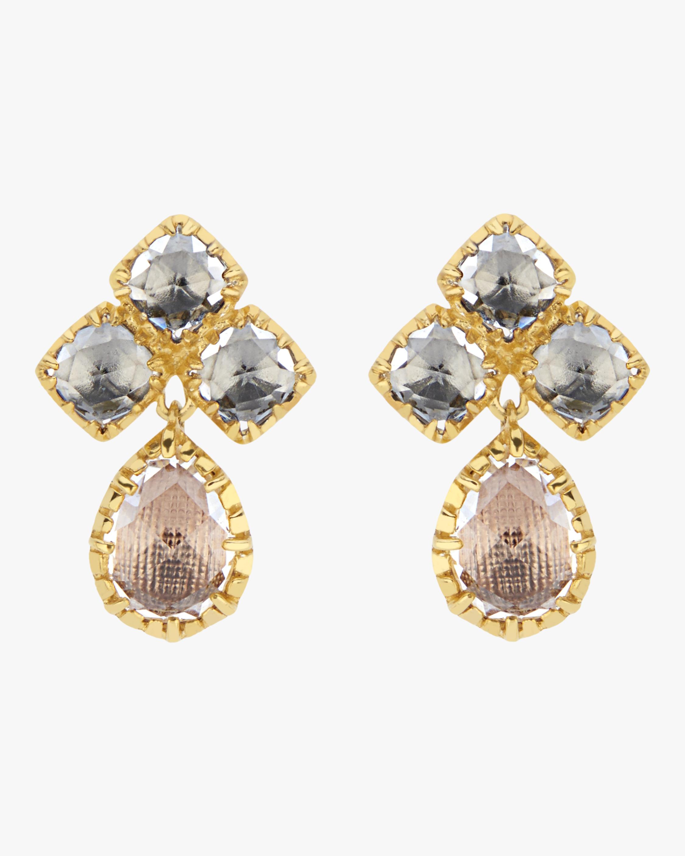 Larkspur & Hawk Sadie Small Cluster Earrings 0