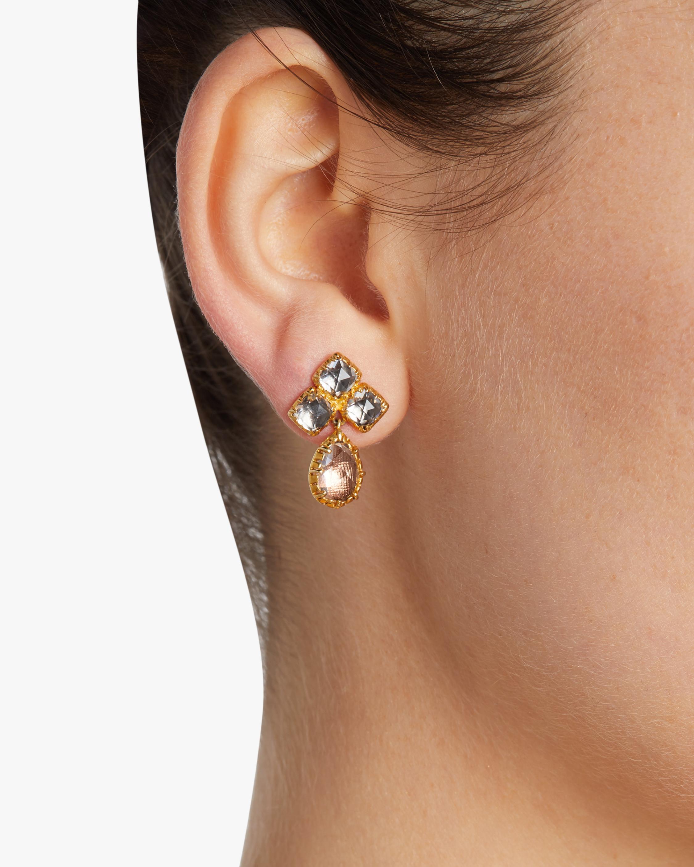 Larkspur & Hawk Sadie Small Cluster Earrings 1