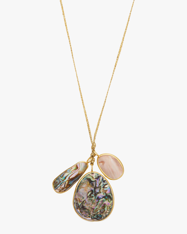 Triple Colette Pendant Necklace