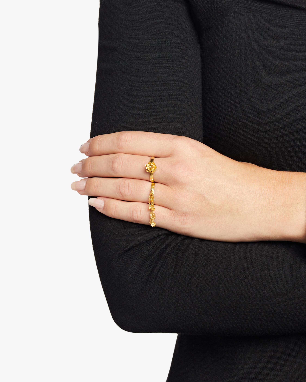Pippa Small Burmese Lotus Bud Ring 2