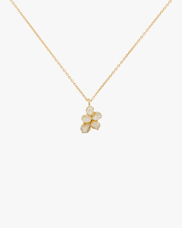 Dot Set Five Diamond Scatter Necklace