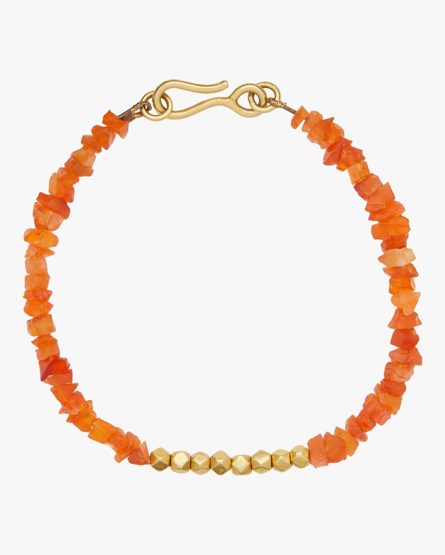 Pippa Small Gold Bead Bracelet 0