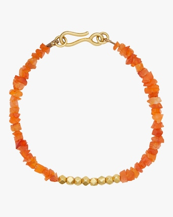 Pippa Small Gold Bead Bracelet 1