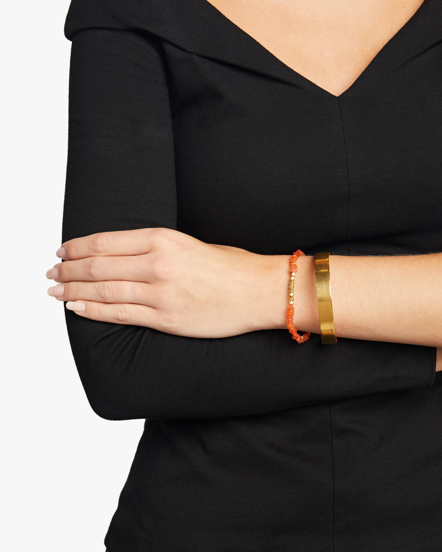 Pippa Small Gold Bead Bracelet 1