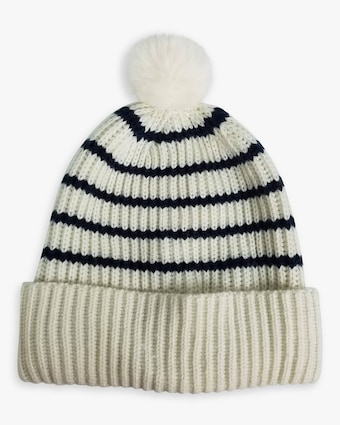 French Stripe Beanie