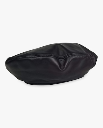 Hat Attack Leather Beret 2